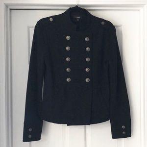 Express Women's Fleece Button Down Jacket